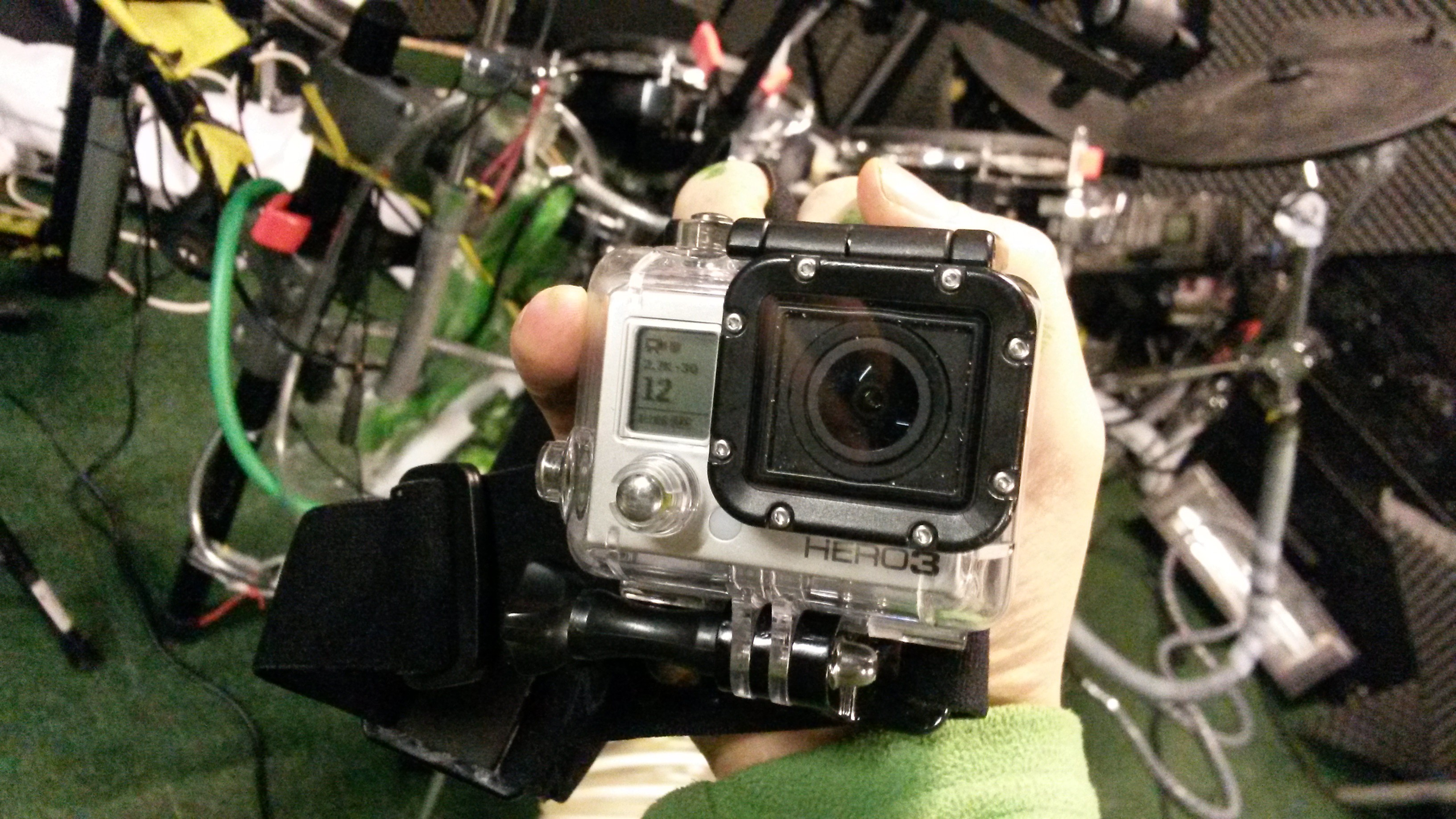 Live video recording on GoPro Hero cameras